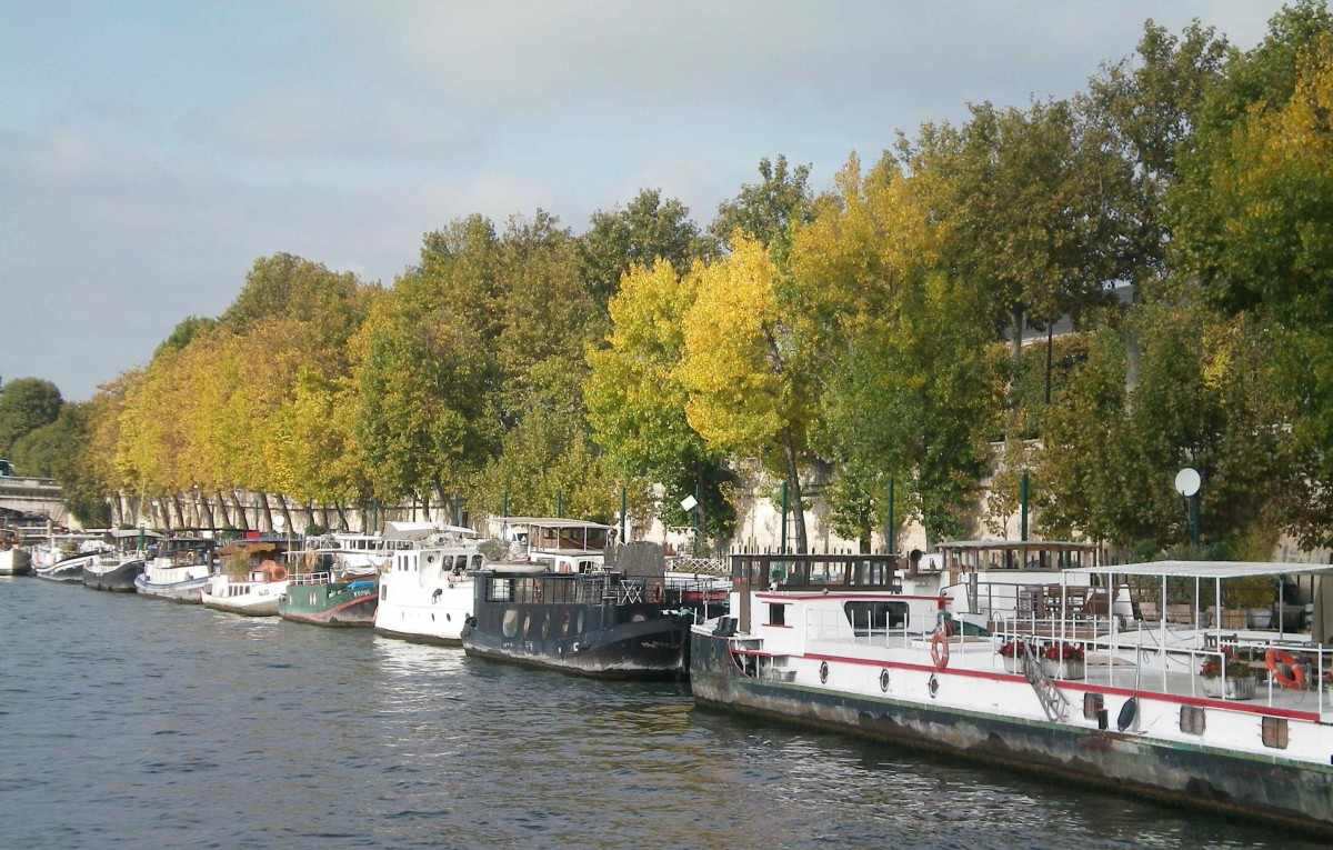 The banks of the Seine (c) A. Harrison