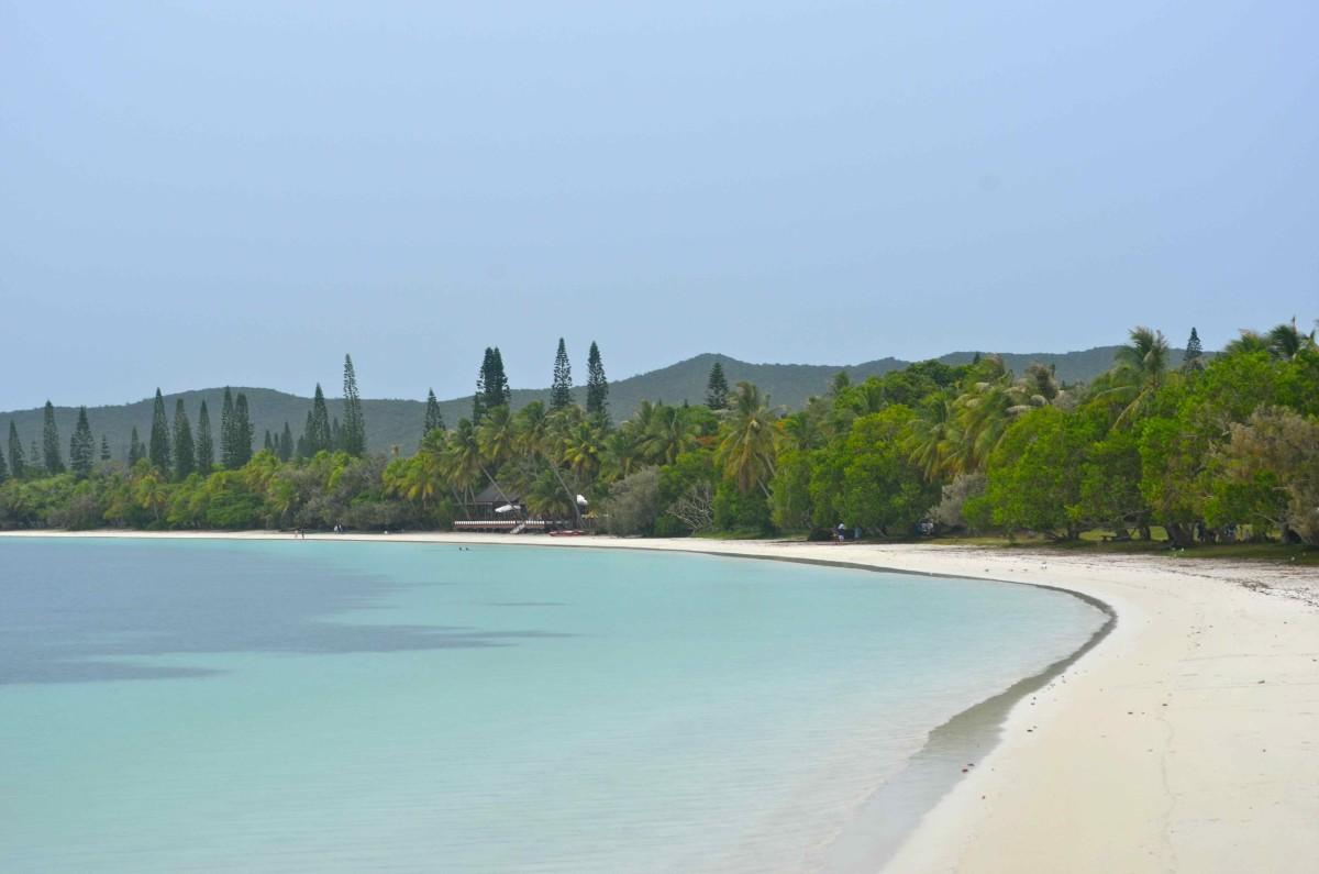 The pristine beaches of l'Ile des Pins (c) A.Harrison