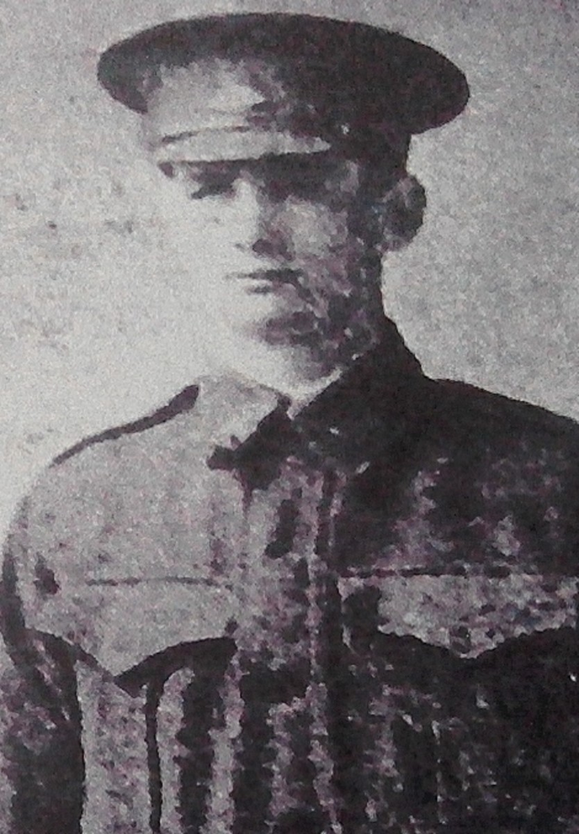 Private Andrews in uniform