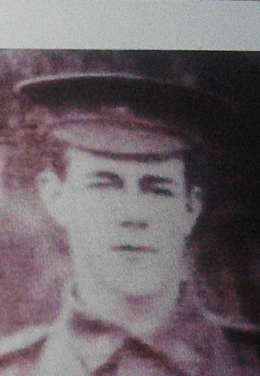 Private McDougall in Uniform