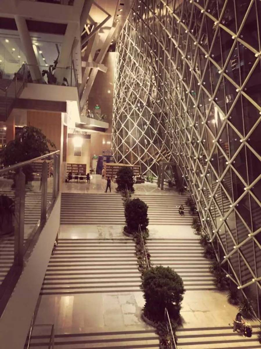 Shenzhen Central Library Interior 2. Grand Staircase