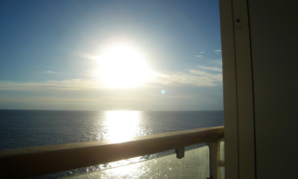 For me, a balcony cabin is the only way to go!