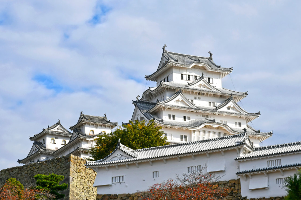 Himeji Castle, one of Japan's first UNESCO sites, and the most elegant Japanese castle.