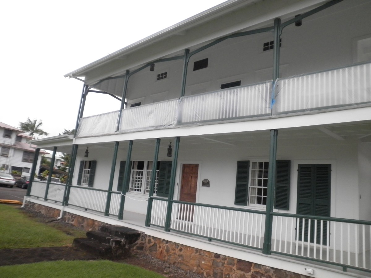 Lyman mission house in Hilo