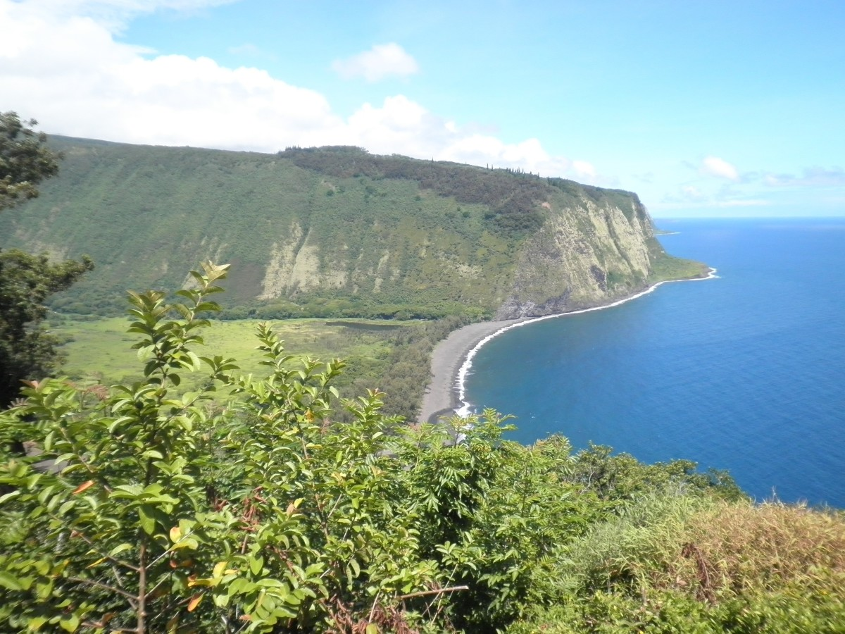 Waipio Valley on the north side of Hawaii's Big Island