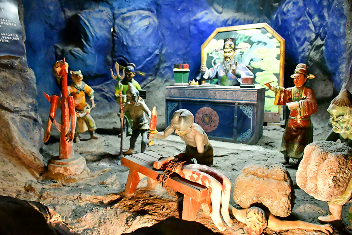 To say Haw Par Villa's Hell's Museum is gruesome is an understatement.