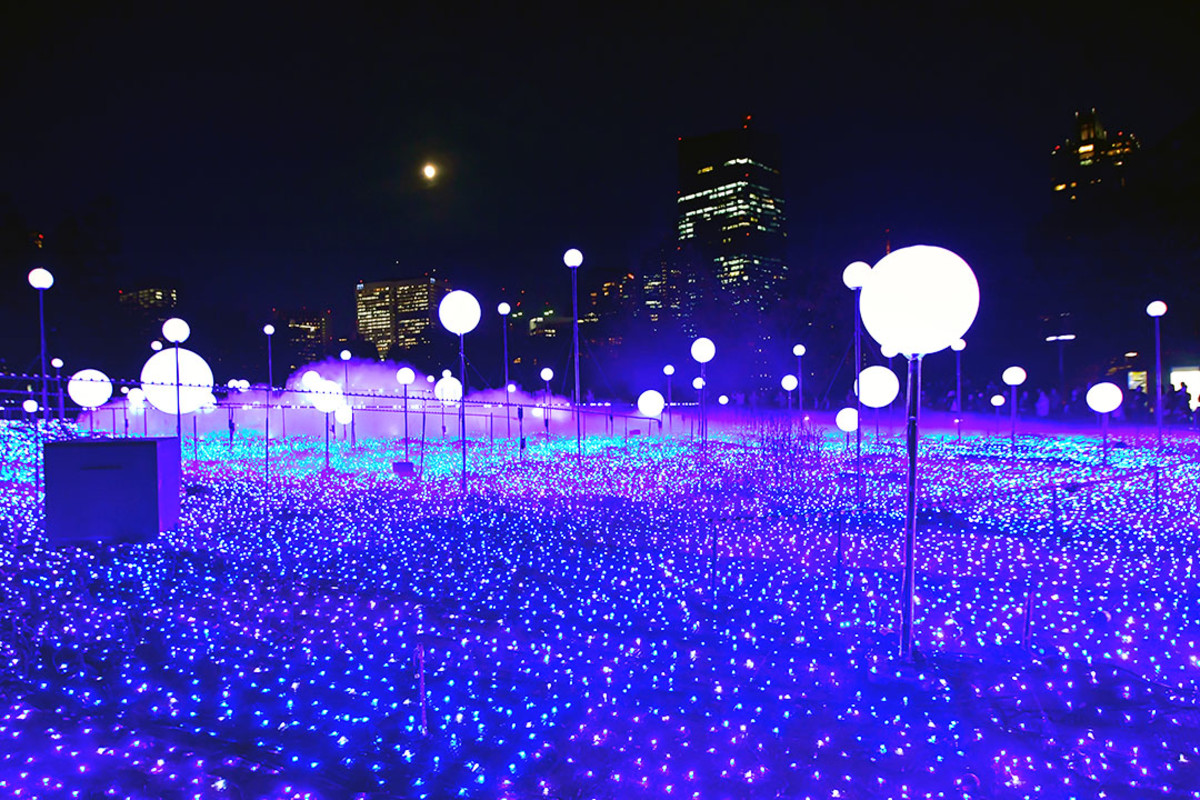 Tokyo Midtown Starlight Garden 2018.