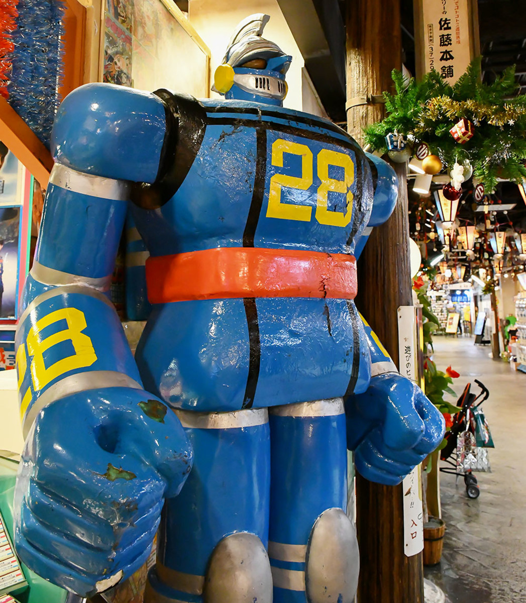Mecha heroes watch over Japan's capital tirelessly.