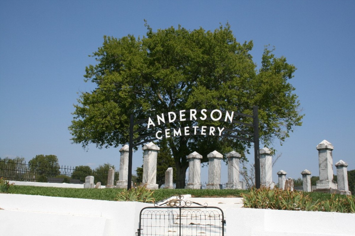 Anderson Family Cemetery, Hurricane Mills, Tennessee