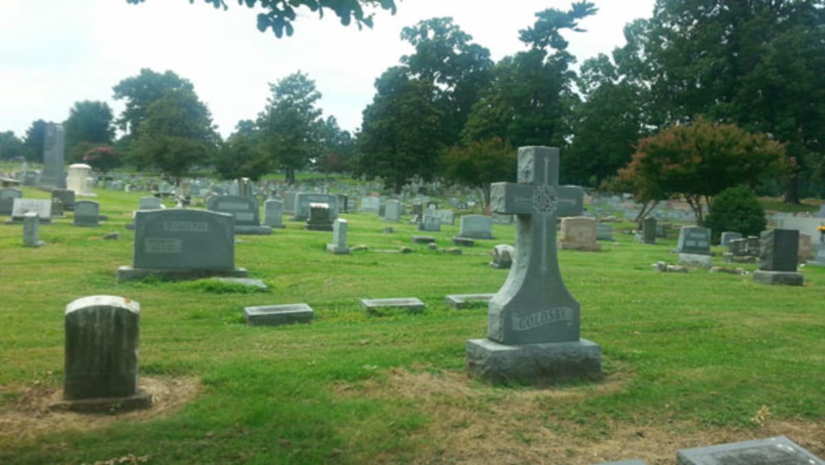 Elmwood Cemetery, Memphis, Tennessee