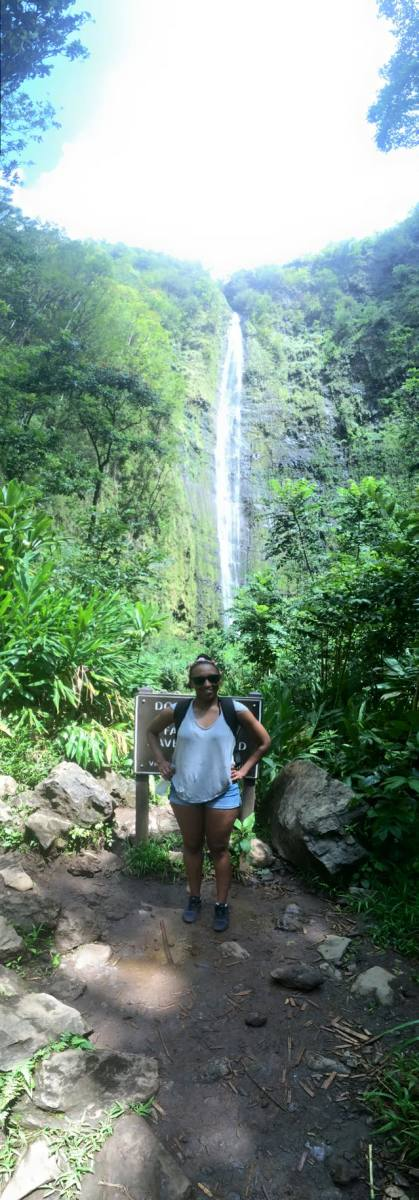 One of the highest waterfalls in Maui.
