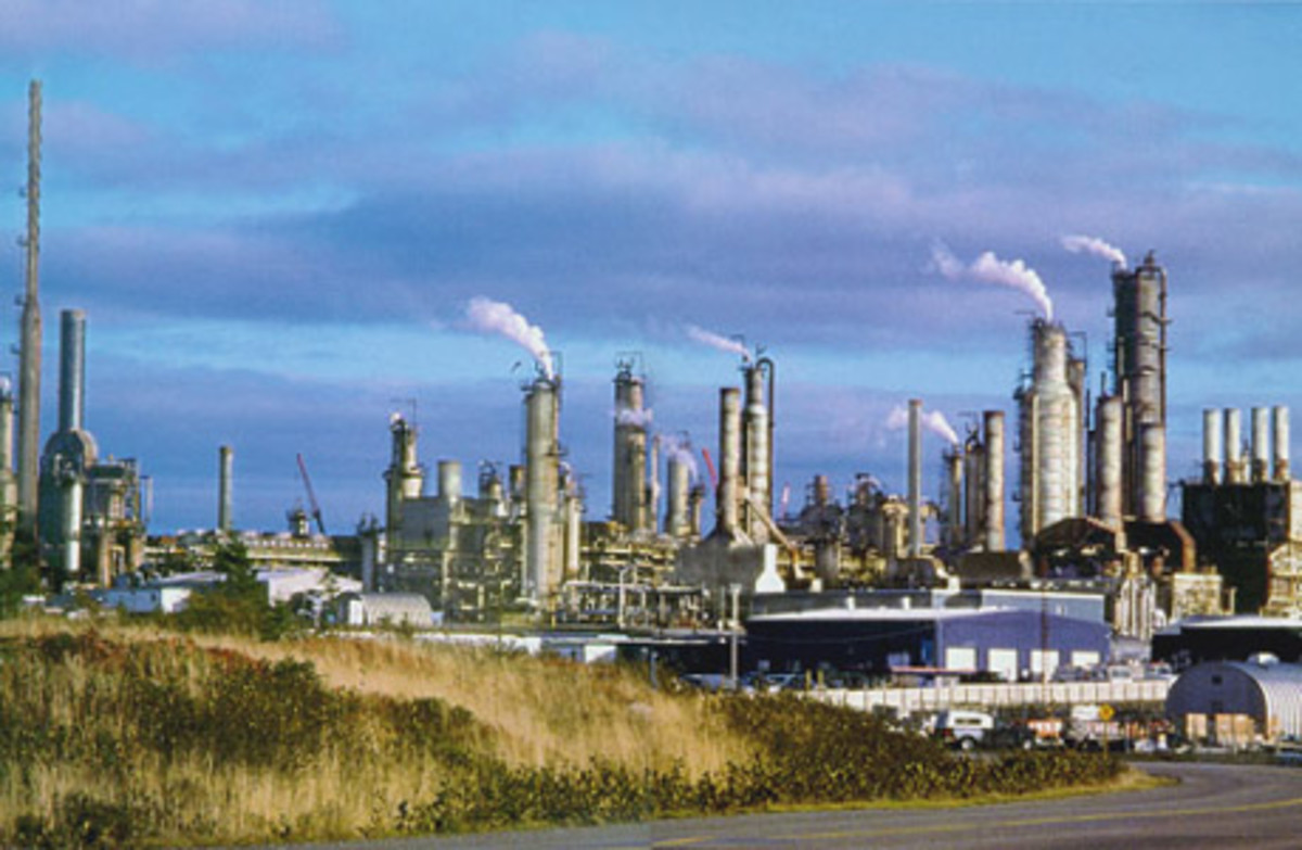 The Come By Chance Oil Refinery