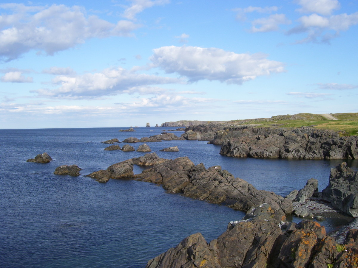 Section of coastline, Bonavista, Bonavista Bay