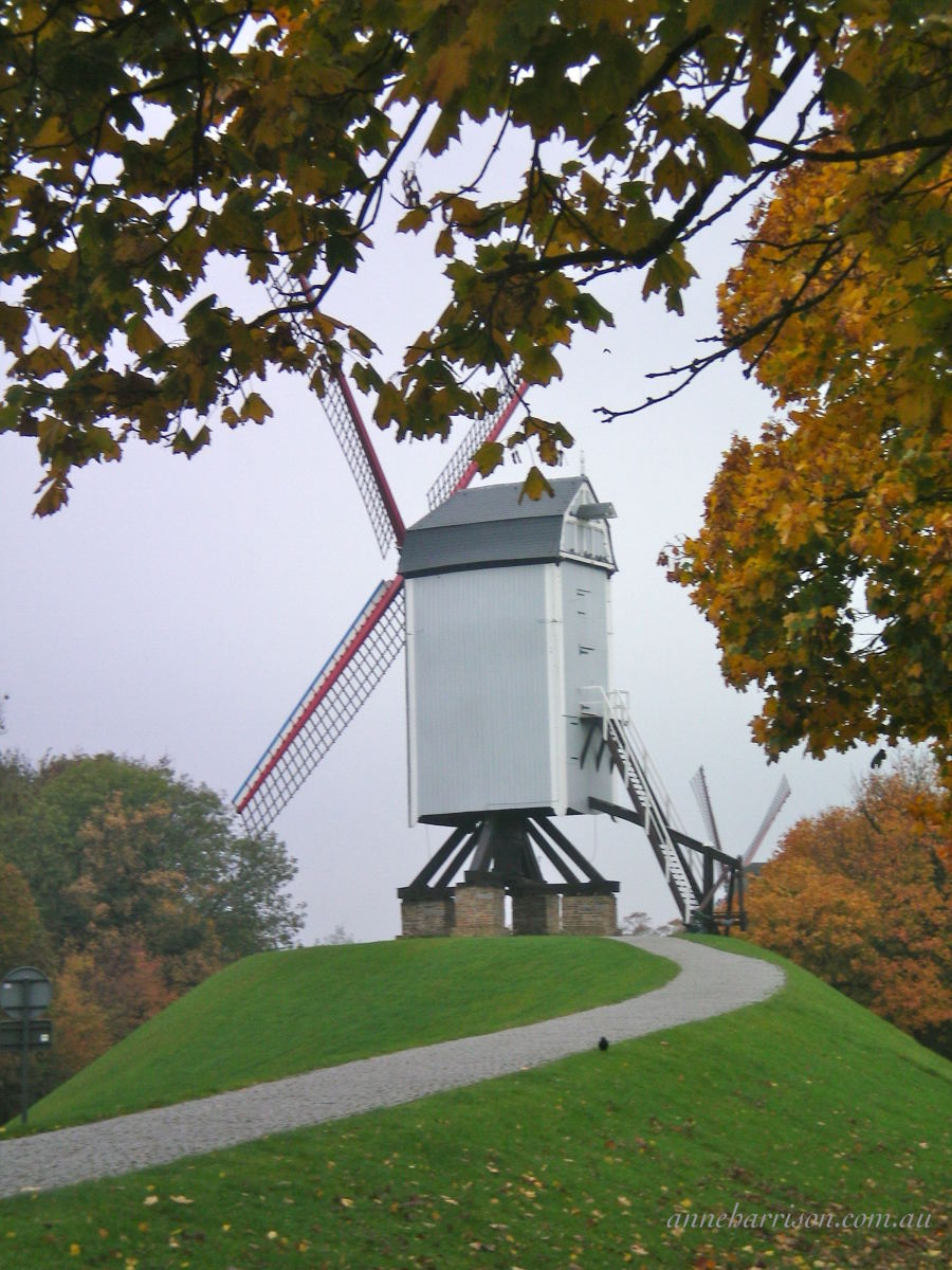 One of the remaining windmills
