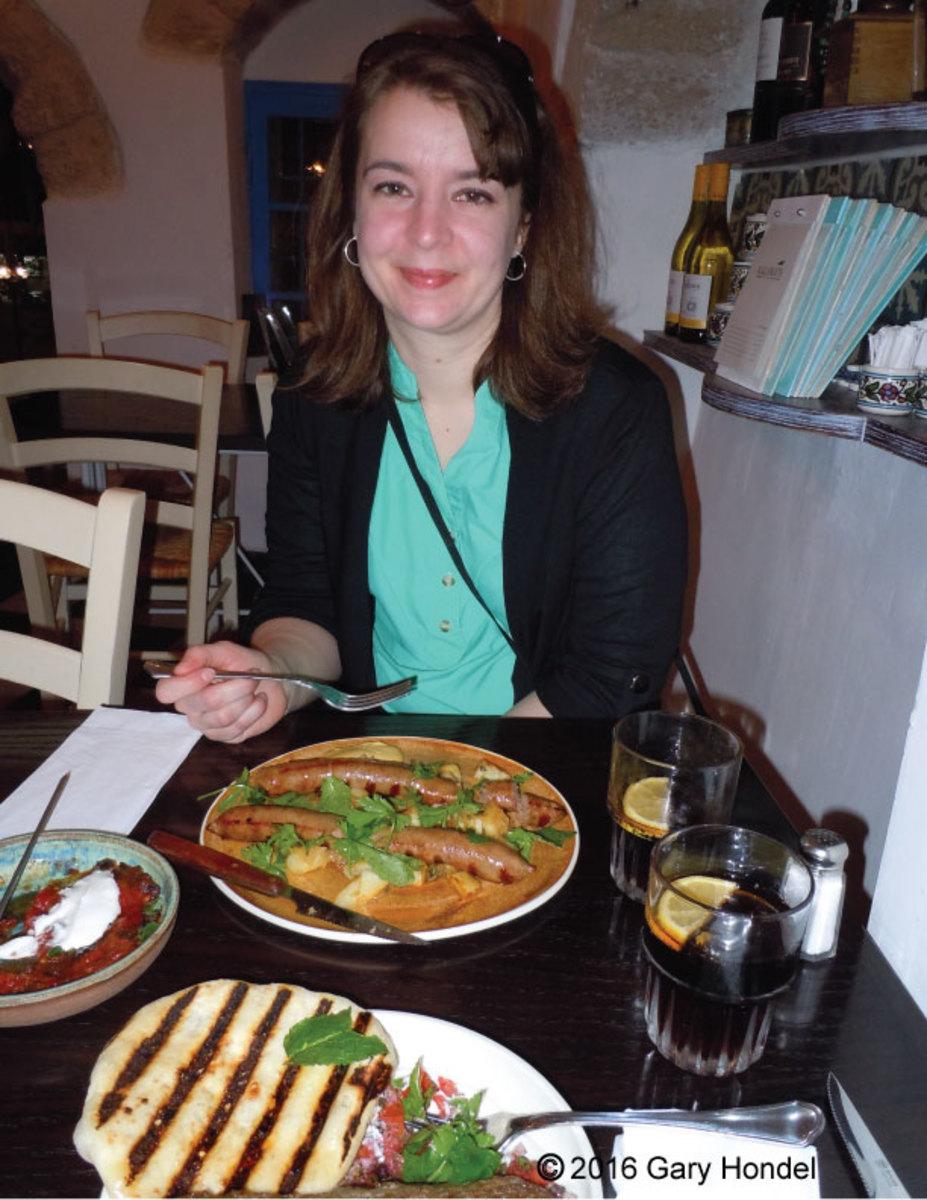 Dinner at Kalamata Restaurant