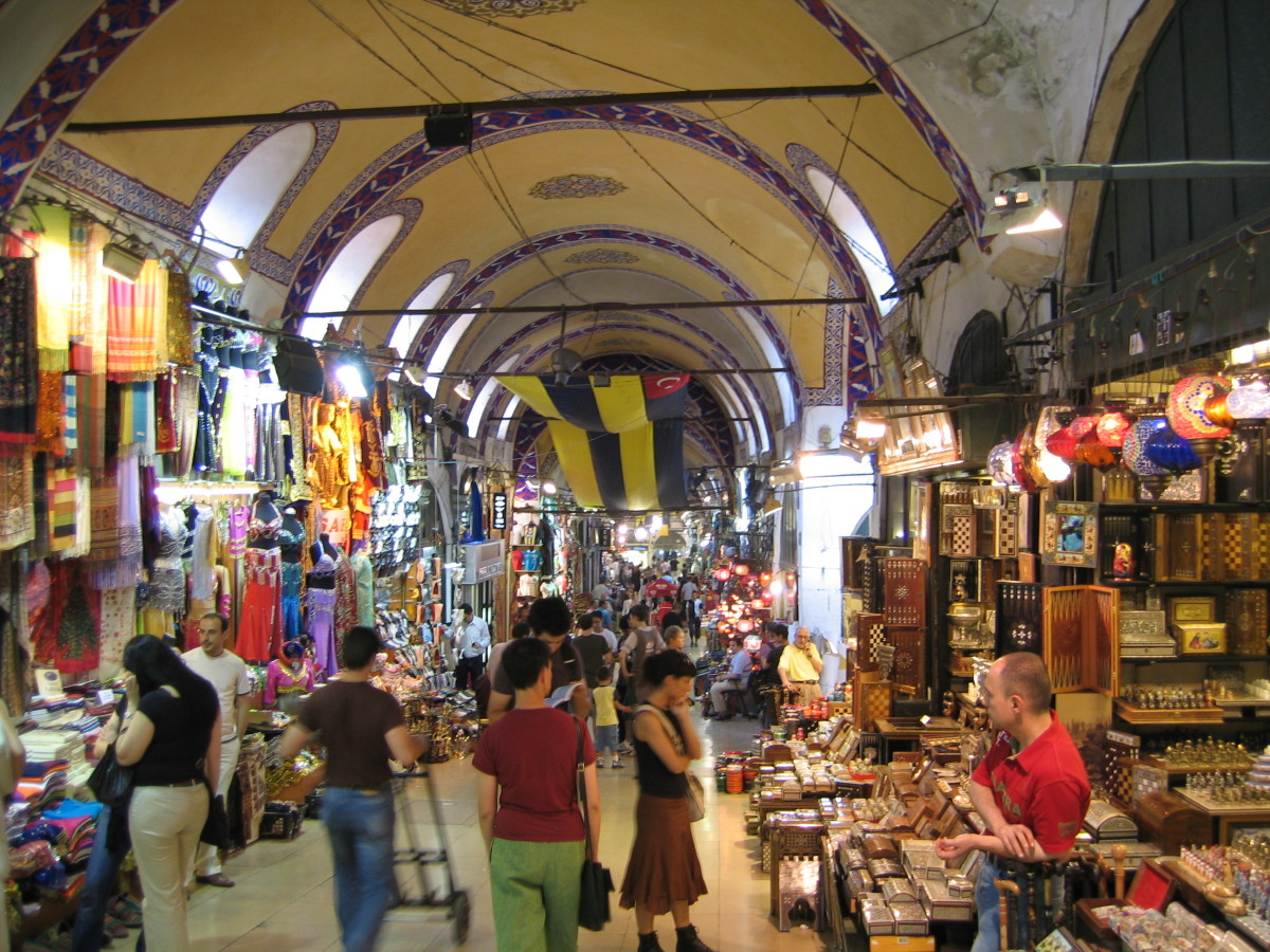 The Grand Bazaar is one of the best things to see in Istanbul, but make sure not to get swindled out of your money.