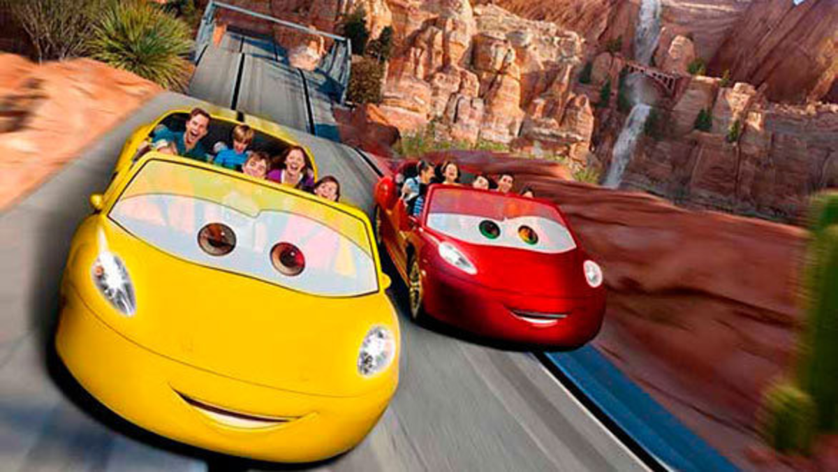 Radiator Springs Racers is one of the best rides in the Parks, and also one of the busiest!