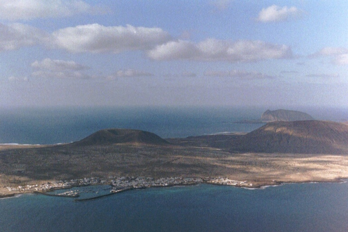 View from Mirador del Rio on the Island of Lanzarote