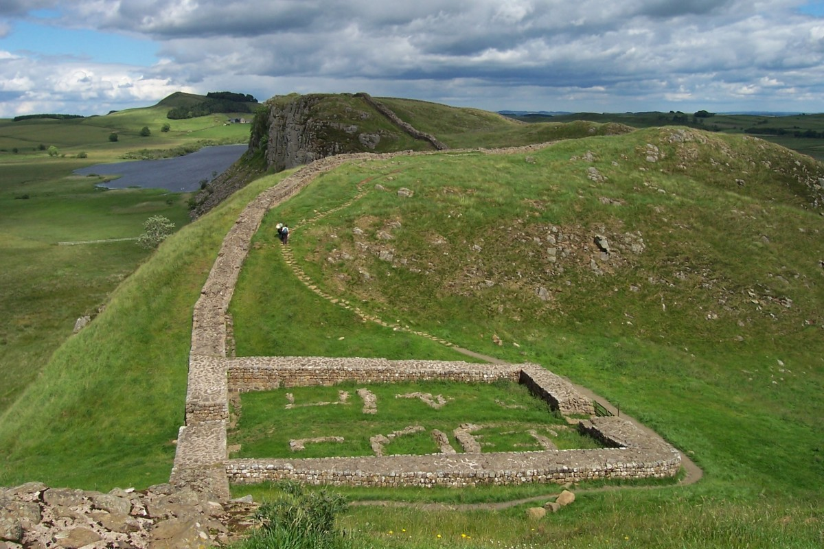 Hadrian's Wall at Once Brewed