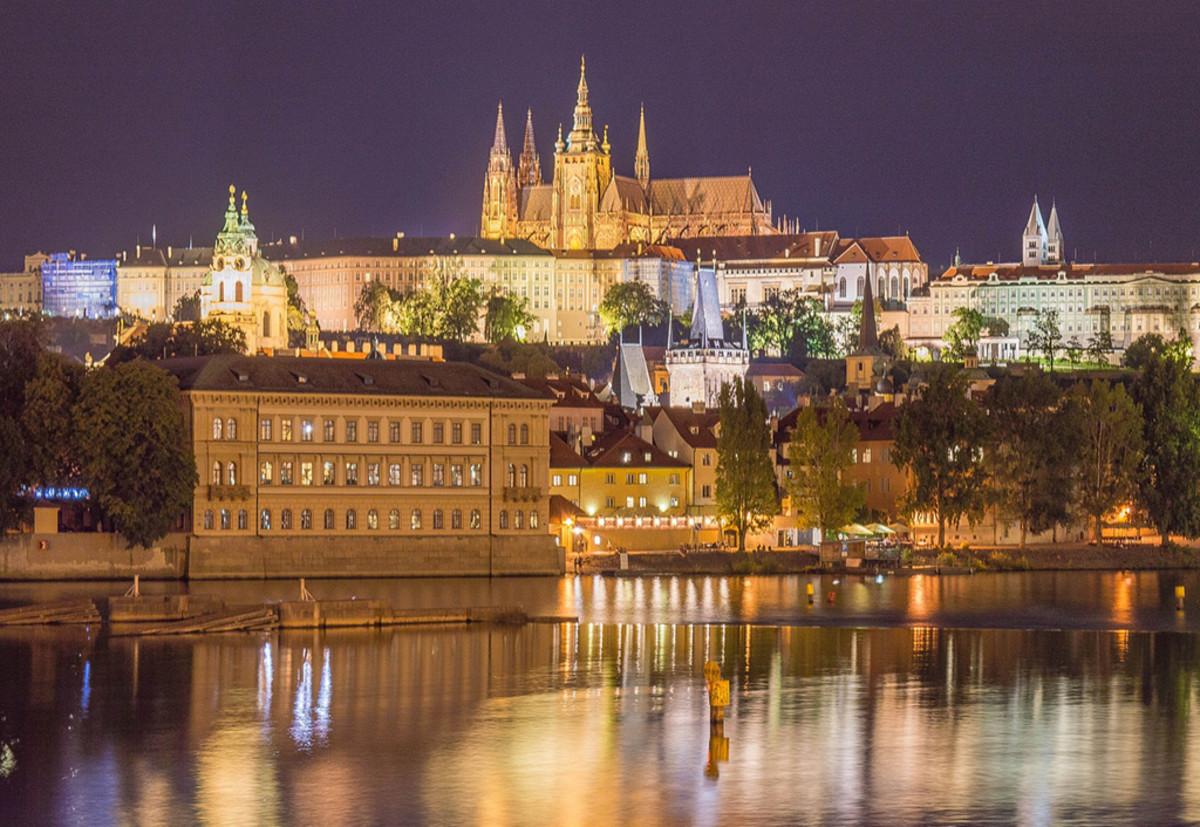 Prague Castle, the largest ancient castle in the world.