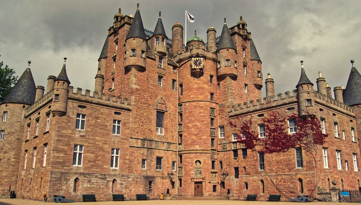 Grim secrets are aplenty within the walls of Scotland's Glamis Castle. There is also a picture-perfect clock tower.