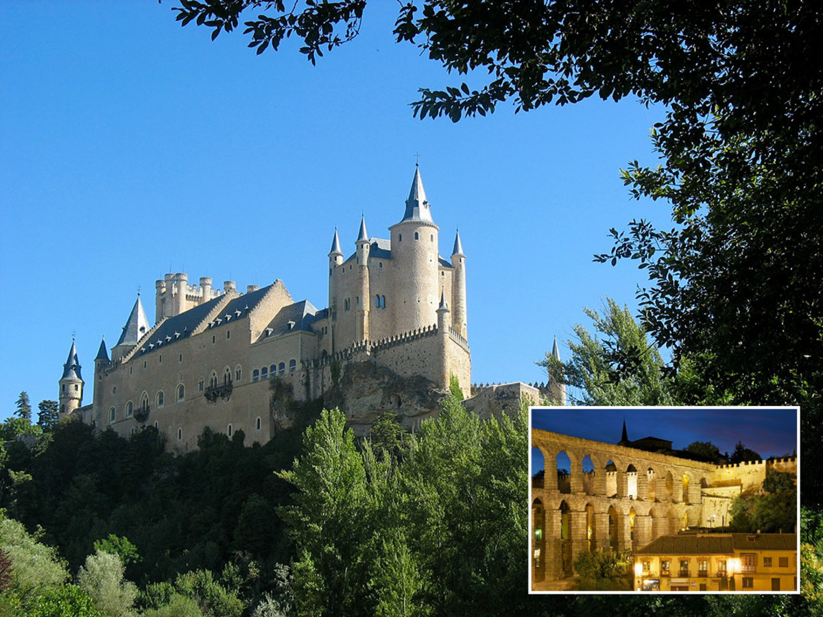 For some, Segovia's Alcazar feels like a graceful ark floating on a hilltop.