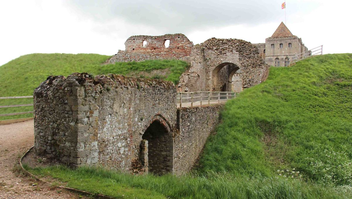 Castle Rising Gatehouse. There's another pic at the top of this page