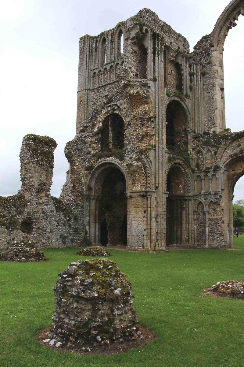 Historic Sites and Architecture Around the World.. The 12th Century ruins of Castle Acre Priory in Norfolk, England