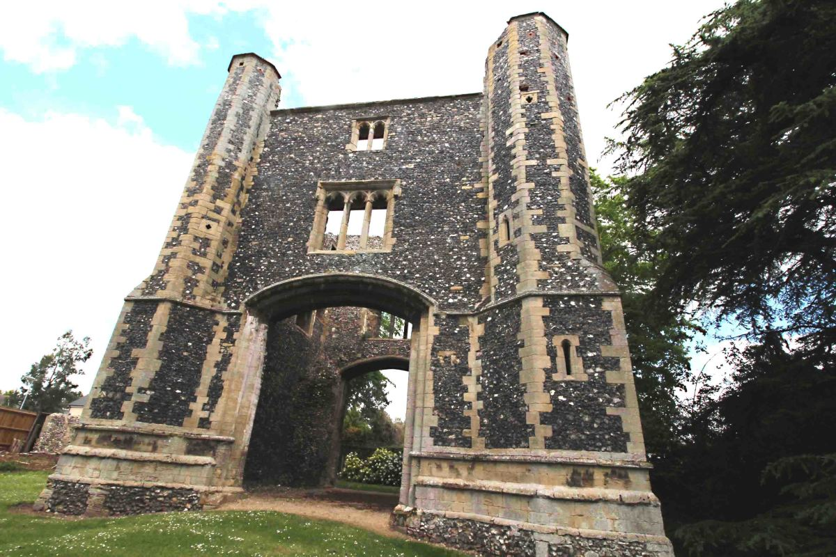 The 14th century Gatehouse of the Priory