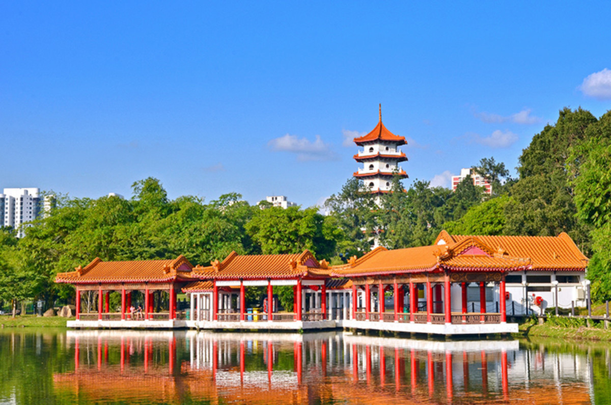 A little dated, and 30 minutes from downtown. But the Chinese Garden in the Jurong area is still worth a look-see.