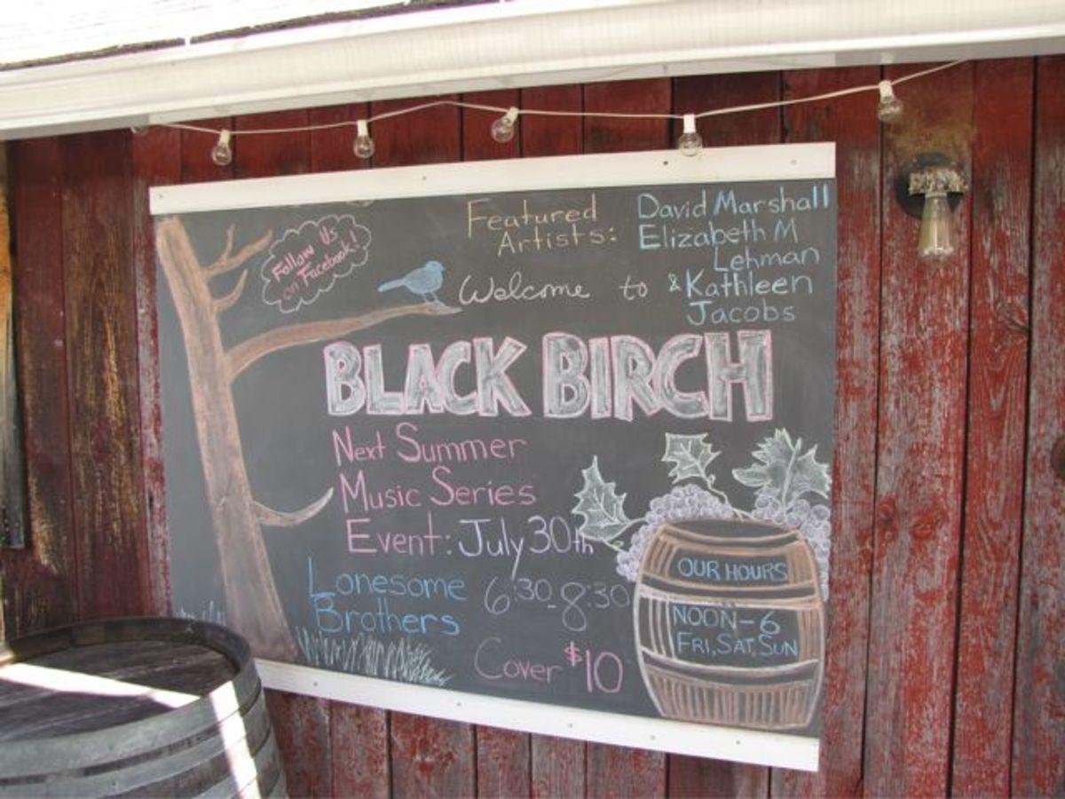 Black Birch Winery