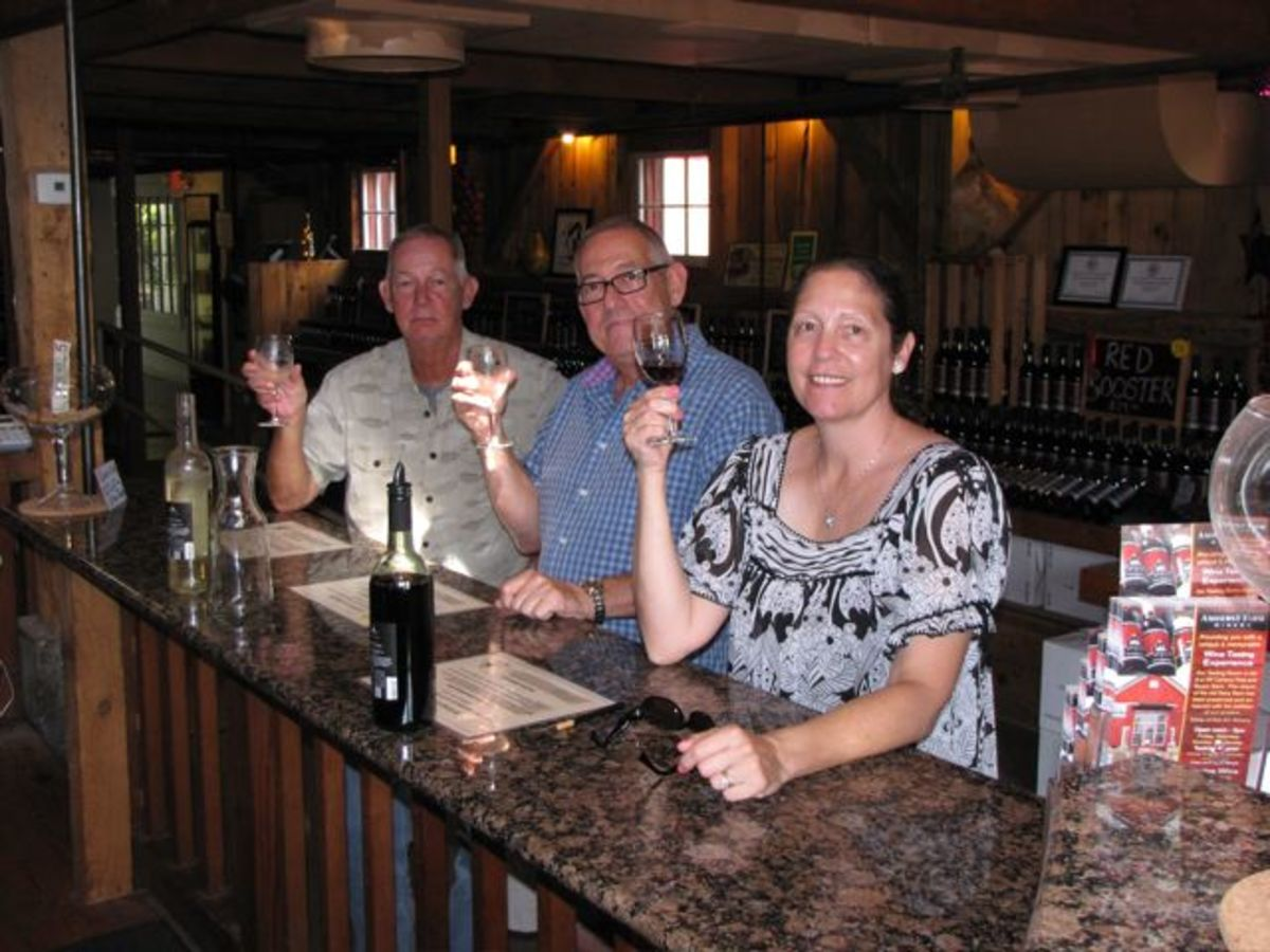 Cheers!   Amherst Farm Winery