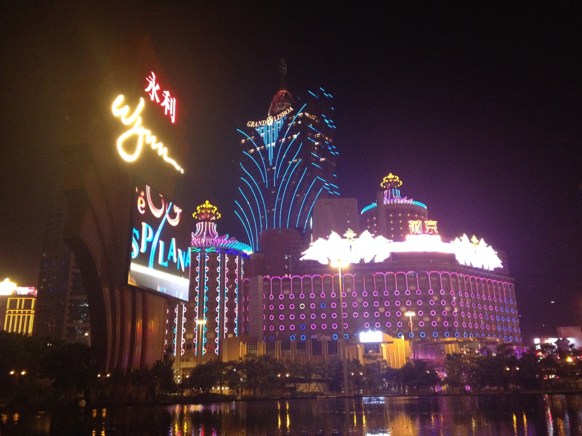 Night lights in Macau