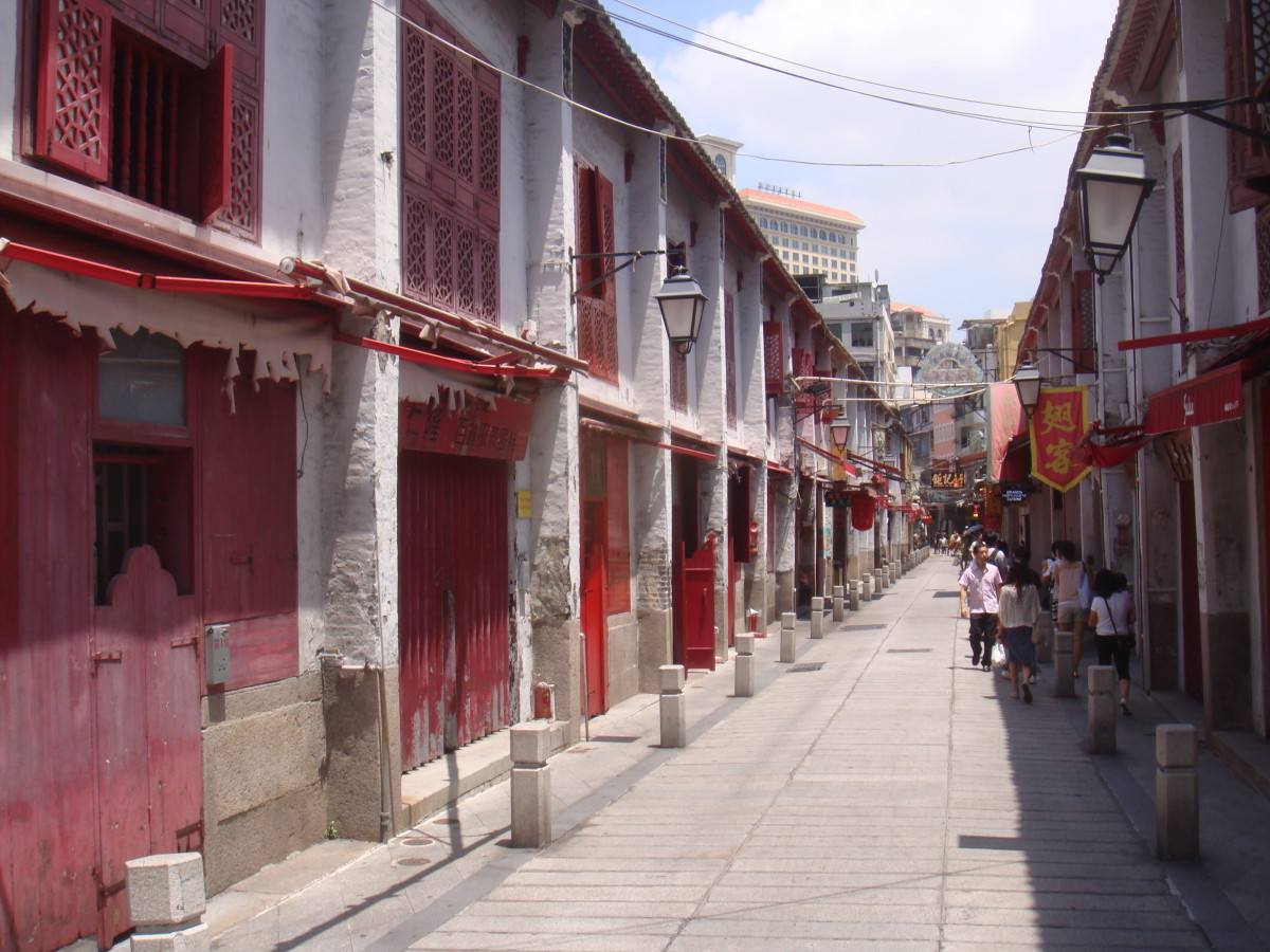 Old streets of Macau