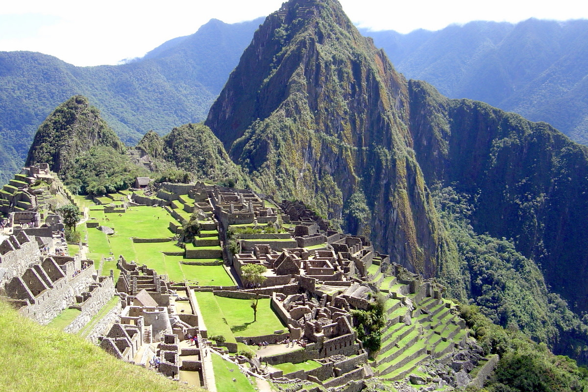This classic view of Machu Picchu captures the spirit of this ancient site so beloved by tourists and archaeologists alike.