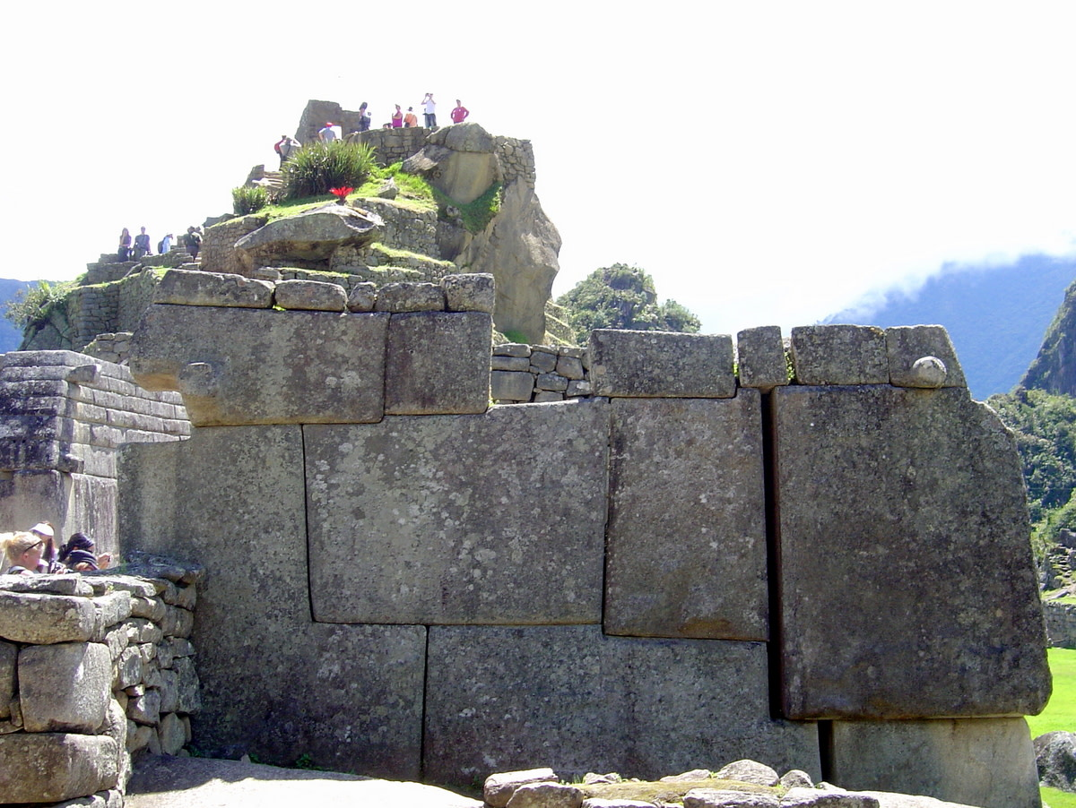 Huge interlocking blocks of stone were carved by gifted Inca artisans to create walls which stood without mortar being required.