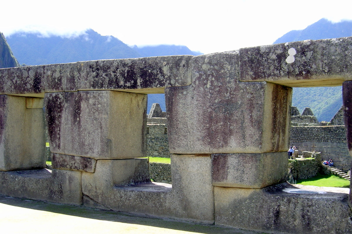 The Three Windows, a wall which shows in detail the intricate handiwork of the Inca artisans who created this citadel.