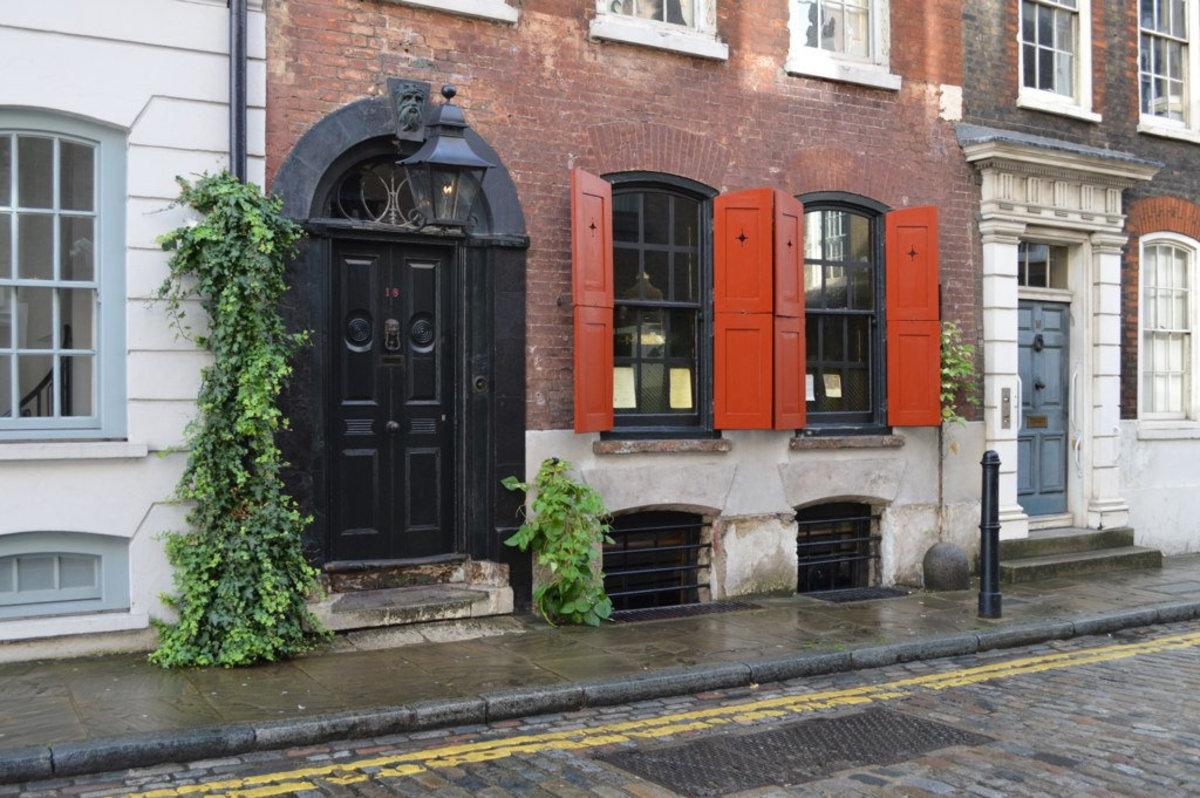 Dennis Severs' House, 18 Folgate Street, Spitalfields, London