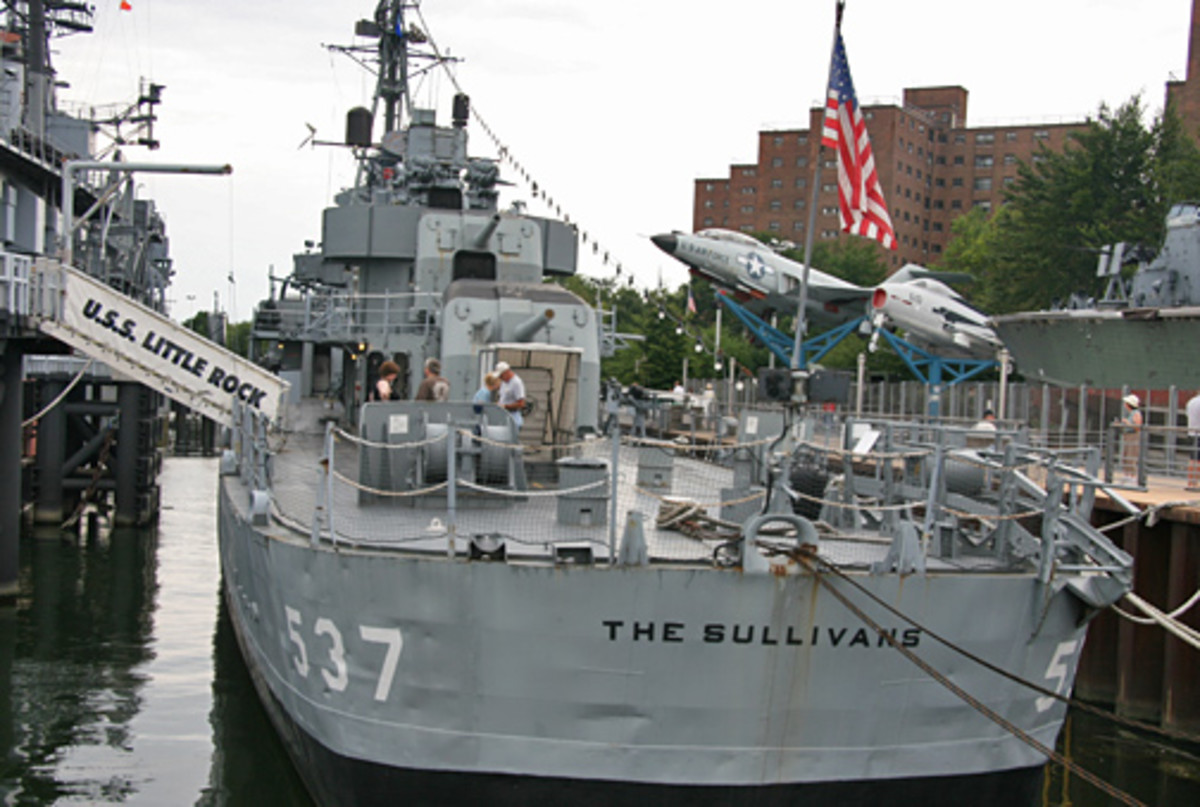 Visit the Buffalo and Erie County Naval & Military Park