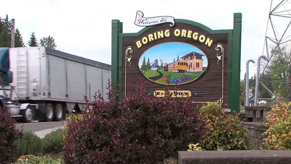 Boring, Oregon is twinned with Dull in Scotland. There are also Borings in Tennessee and Maryland.