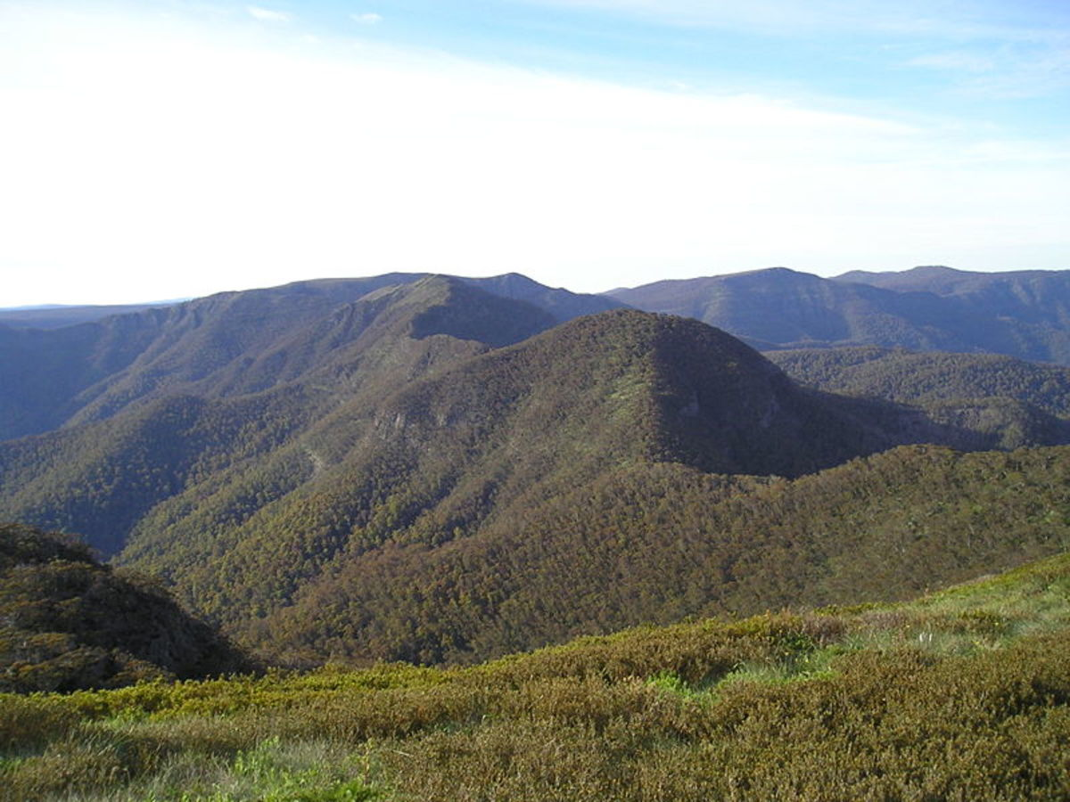 Mount Buggery in all its glory. Not to be confused with Break-Me-Neck Hill in Tasmania.