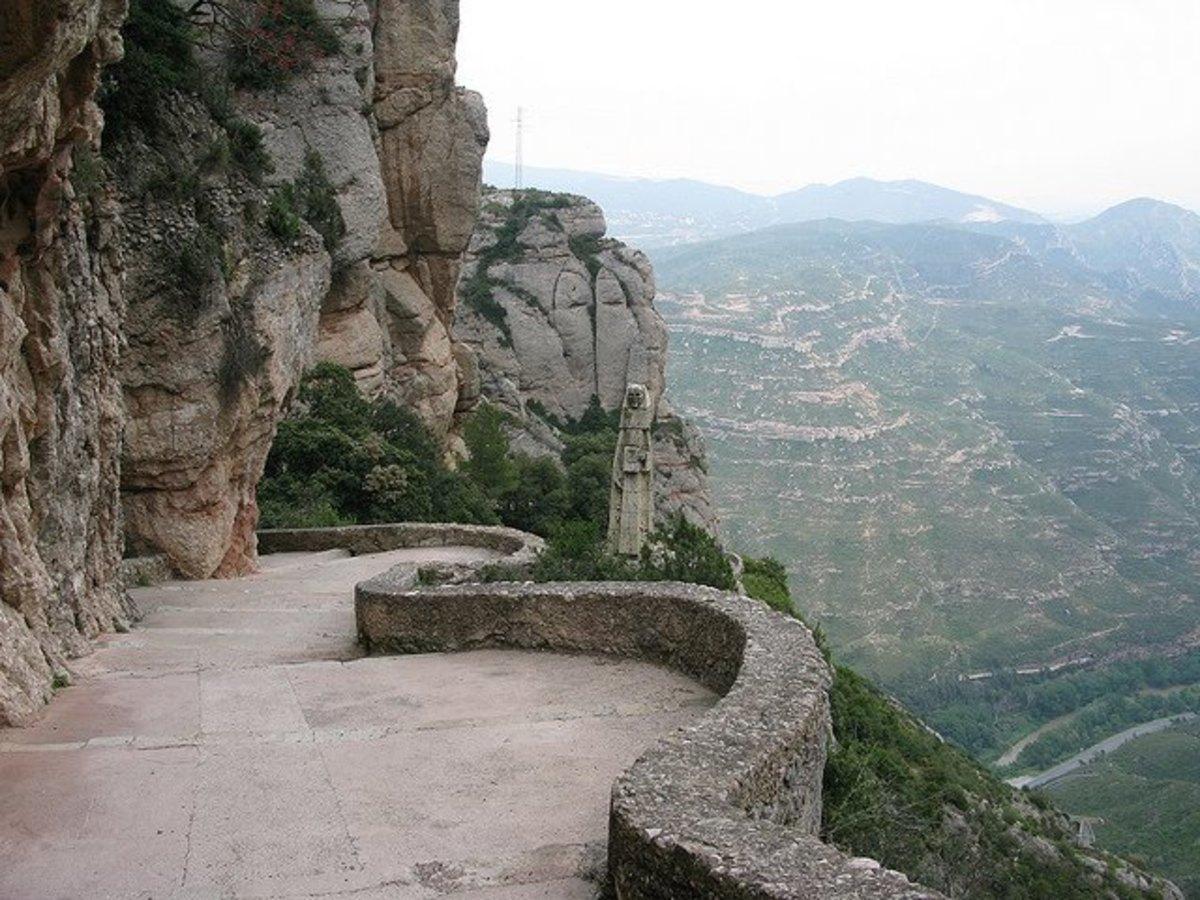The Black Virgin of Montserrat, Catalonia