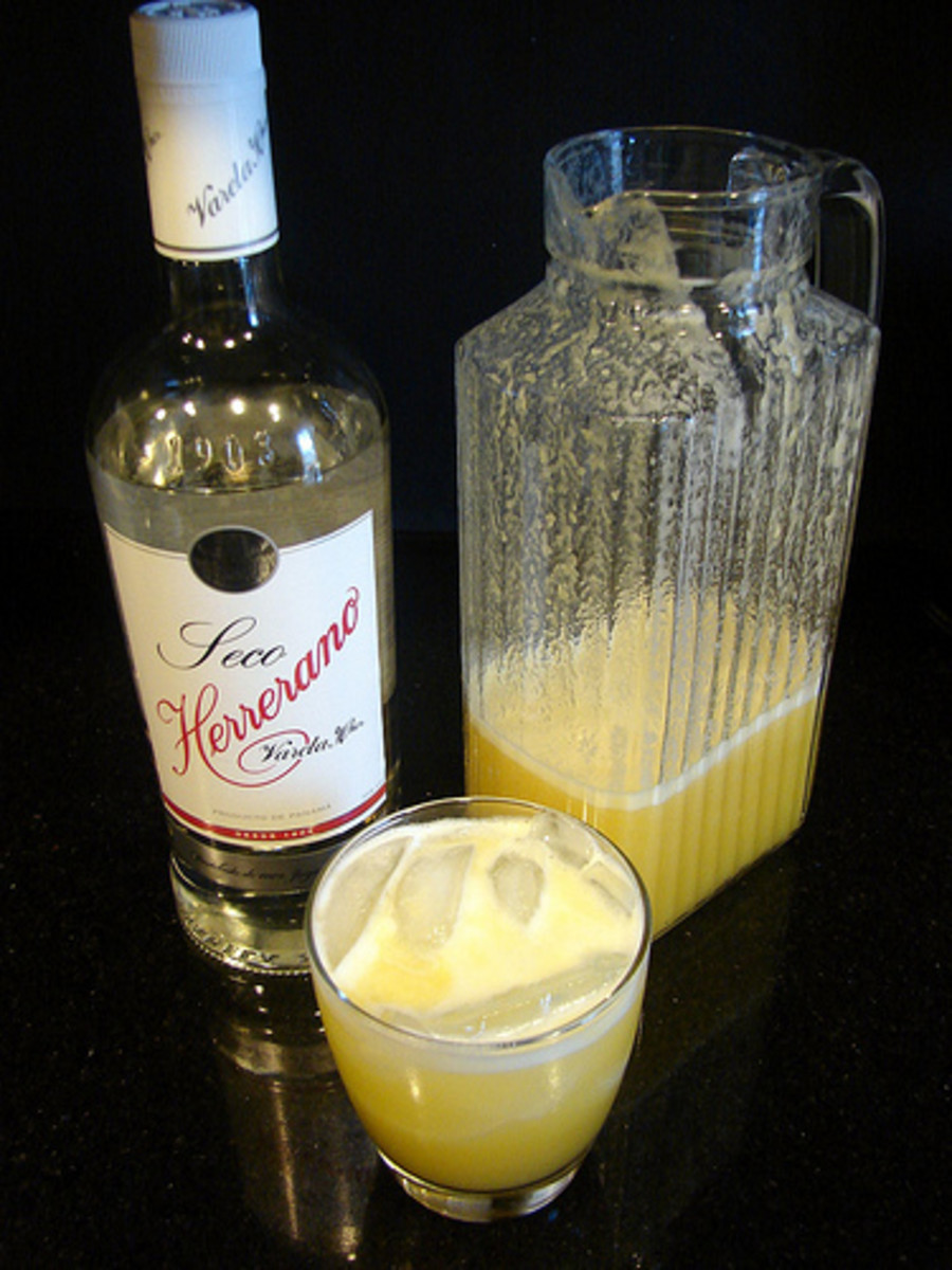 Seco Herrerano. A delicious, frothy, fruit & booze confection that's essentially a smoothie for grownups. Fresh and bright, this local treat is also ridiculously high in Vitamin C - if, you know, you're into health benefits with your party-smoothies.