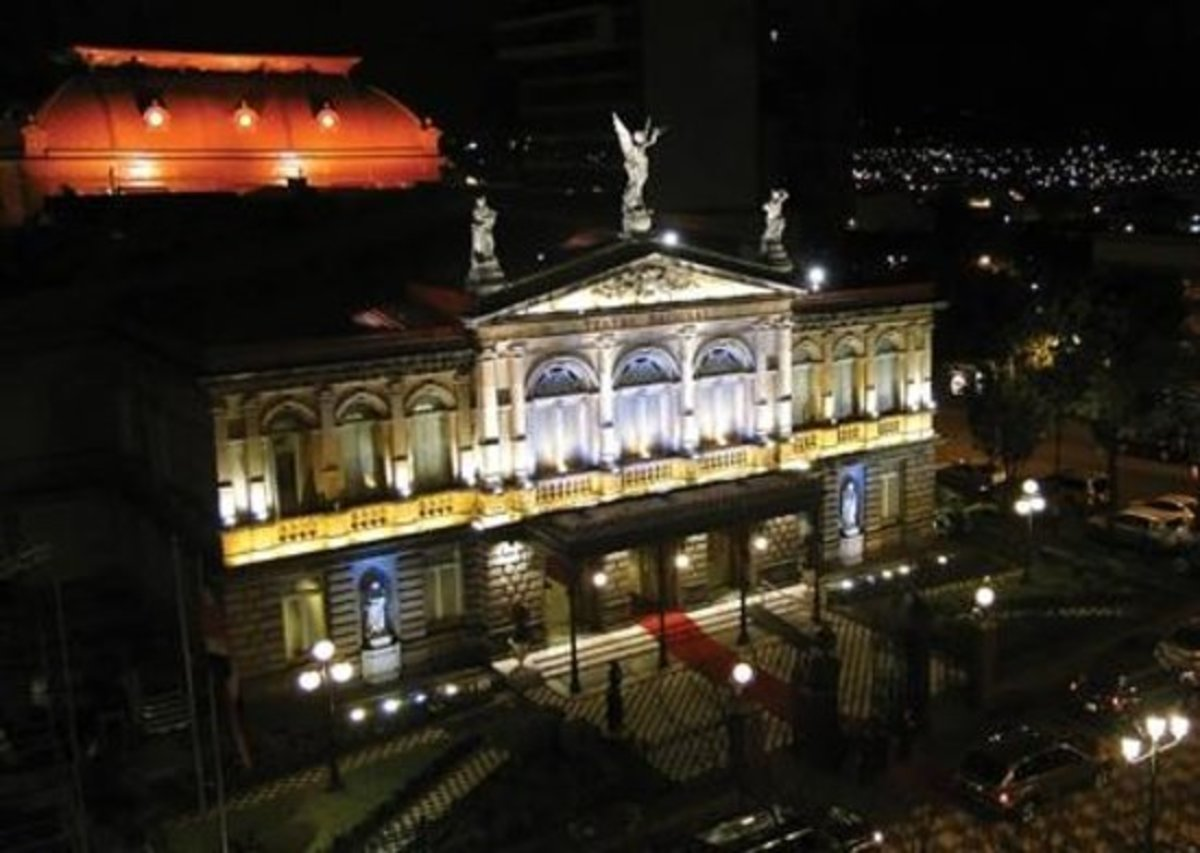 The Teatro Nacional de Costa Rica, San Jose.