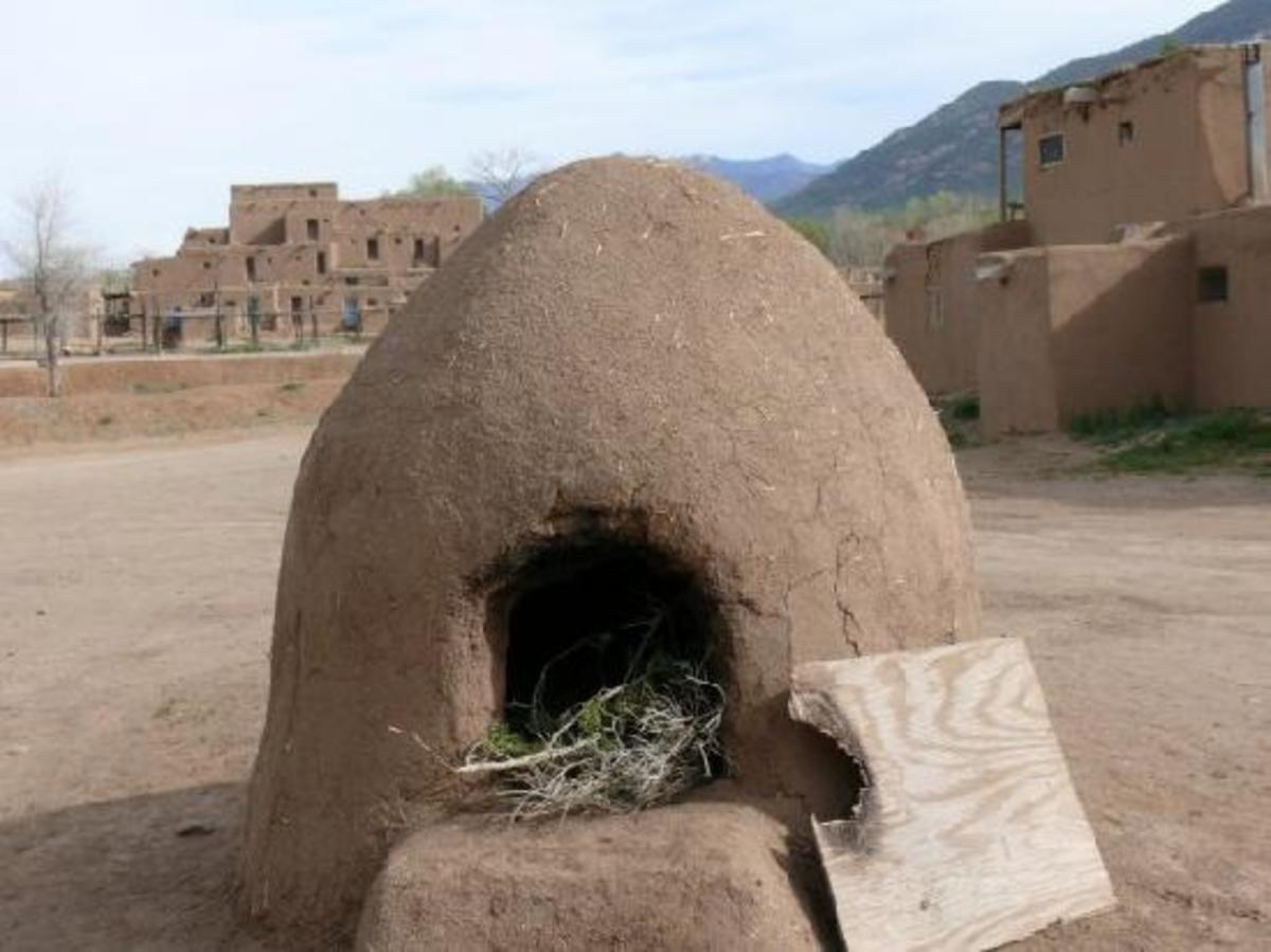 Horno (oven) outside the pueblo and what Henrietta used to bake her bread.