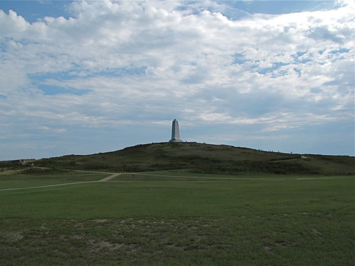 The Wright Memorial atop Kill Devil Hill
