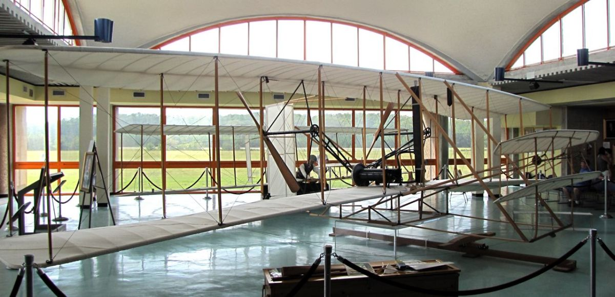 Replica of the Wright Flyer I