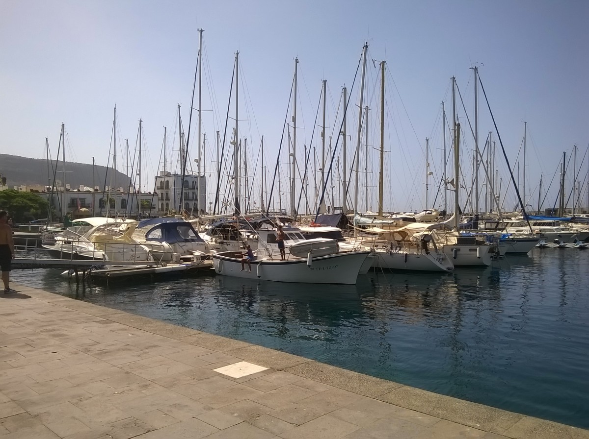 The Marina at Puerto Mogan, Gran Canaria