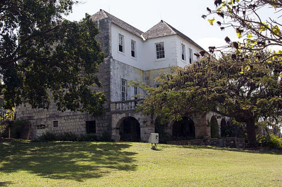 Rose Hall House, said to be haunted by the White Witch of Rose Hall