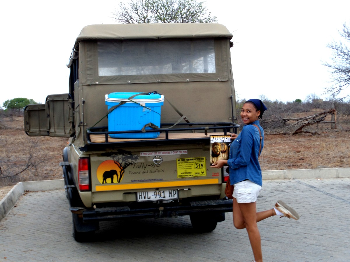 Our planned Kruger Park Safari was awesome.